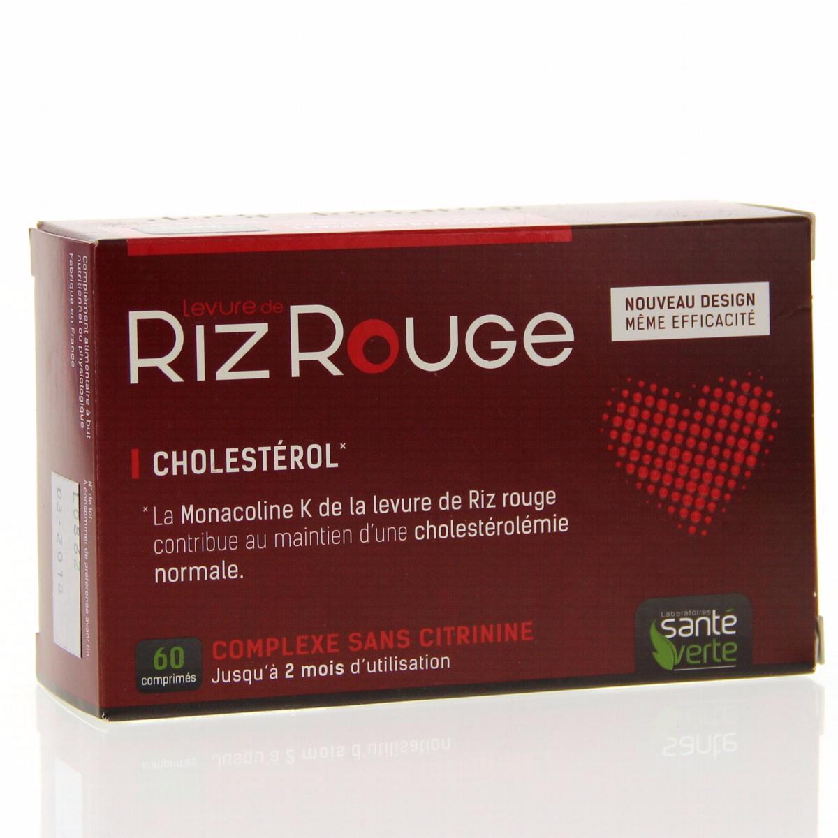 Complément Alimentaire Levure de Riz Rouge en Comprimés