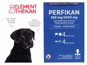 Perfikan Grands Chiens CLEMENT THEKAN - Boite 4 Pipettes
