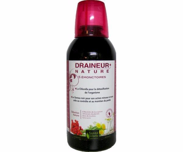 Draineur Nature Santé verte 500 ml - une-pharmacie.com