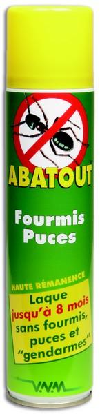 insecticide anti fourmis et puces abatout 300 ml. Black Bedroom Furniture Sets. Home Design Ideas