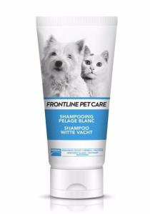 Frontline Pet Care Shampooing Pelage Blanc Chien Chat MERIAL - Flacon 200 ml