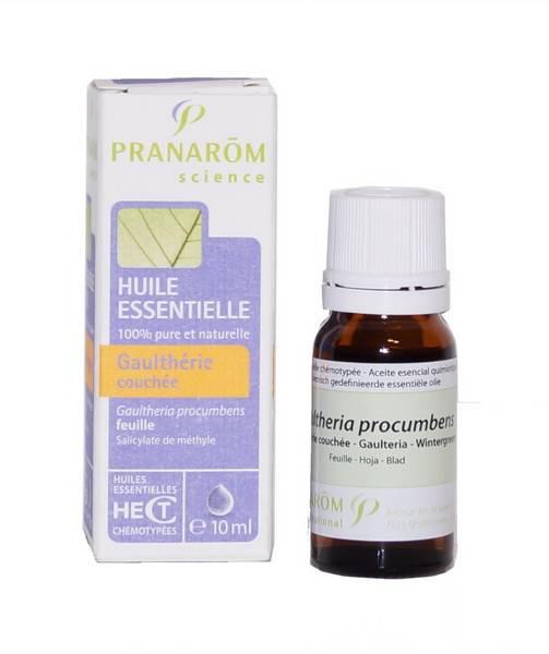 Pranarom huile essentielle gaulth rie couch e 10 ml - Huile essentielle de gaultherie couchee ...