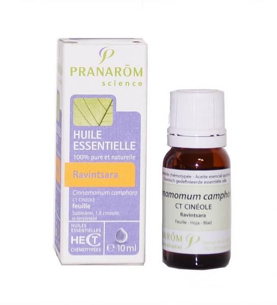 Huile essentielle ravintsara pranarom 10 ml - Sinusite huile essentielle ravintsara ...