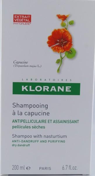 klorane shampooing antipelliculaire la capucine. Black Bedroom Furniture Sets. Home Design Ideas