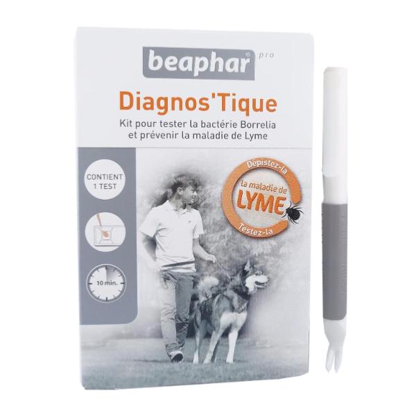 anti tiques diagnos 39 tique kit tire tique beaphar pro pr vention de la maladie de lyme. Black Bedroom Furniture Sets. Home Design Ideas
