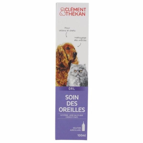 Clement Thekan Solution Auriculaire en 100 ml pour Chien
