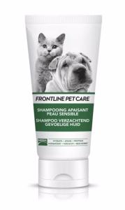 Frontline Pet Care Shampooing Apaisant Peau Sensible Chien Chat MERIAL - Flacon 200 ml