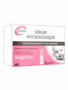 Serum Physiologique Babysoin COOPER - Boite 30 Unidoses 5 ml