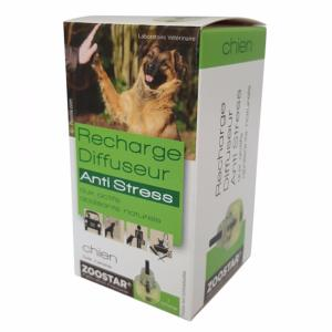 Recharge Diffuseur Anti Stress Chiens ZOOSTAR - Flacon Recharge 30 Jours 45 ml