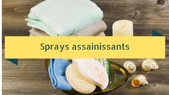 Sprays assainissants