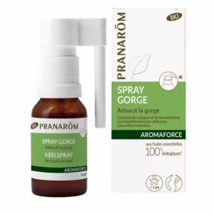 Aromaforce Spray Gorge Bio PRANAROM - Flacon 15 ml