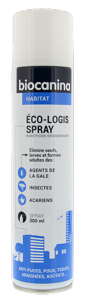 Eco Logis Spray Insecticide Habitat BIOCANINA - Flacon 300 ml