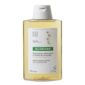 Shampooing Camomille Cheveux Blonds KLORANE - Flacon 200 ml