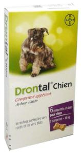 Drontal Vermifuge Chien BAYER