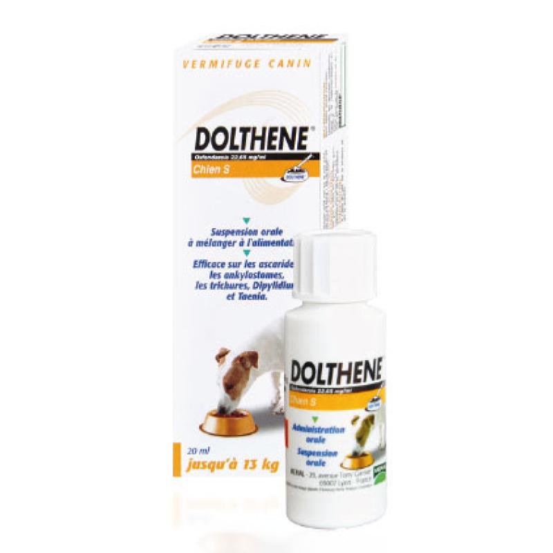 dolthene s chien le vermifuge merial pour les chiens jusqu 39 13kg flacon 20 ml une pharmacie. Black Bedroom Furniture Sets. Home Design Ideas