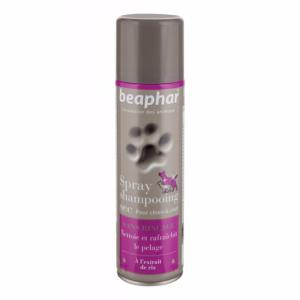Spray Shampooing Sec Chien et Chat BEAPHAR - Flacon 250 ml