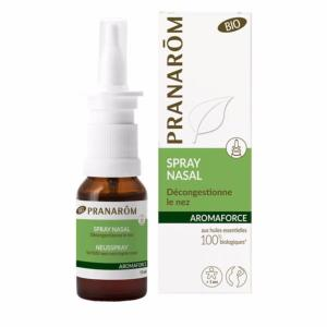 Aromaforce Spray Nasal Bio PRANAROM - Flacon 15 ml
