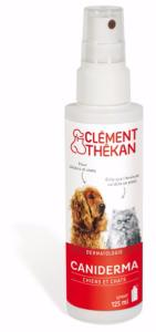 Caniderma Spray Chien et Chat CLEMENT THEKAN - Flacon 125 ml