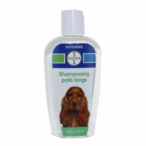 Shampooing Poils Longs Chiens BAYER - Flacon 200 ml