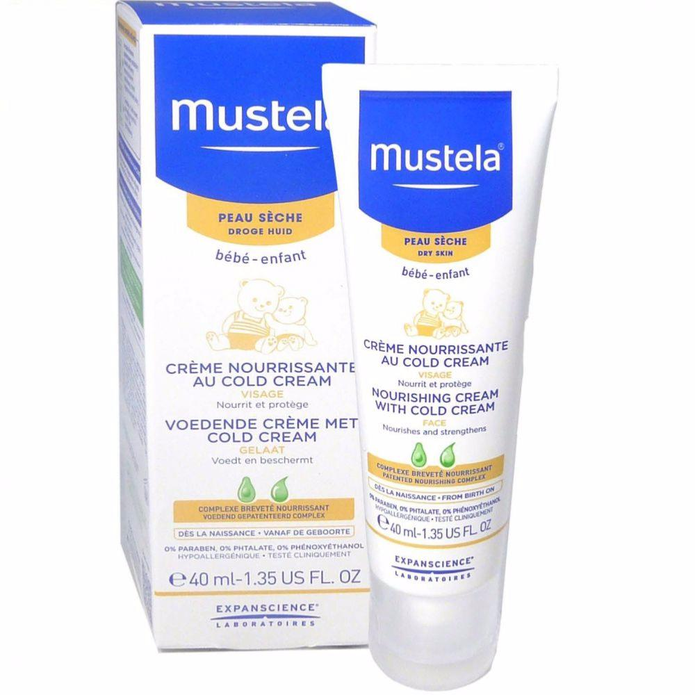 produit mustela cr me nourrissante cold cream 40 ml. Black Bedroom Furniture Sets. Home Design Ideas